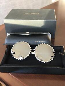 Stylische Sonnenbrille von Linda Farrow