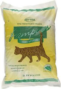 Pettex Pampuss Wood Base Cat Litter Highly Absorbent 5 L Bag