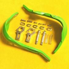 "KAWASAKI KX KDX KLX KZ KLR 7/8"" Green Dirt Bike ATV Brush Handguards Hand Guards"