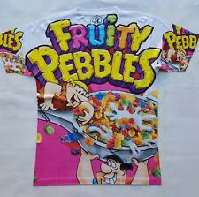Custom Fruity Pebbles Sublimated Shirt  galaxy legend foamposite