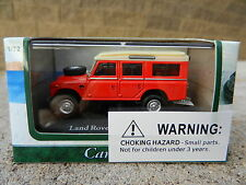 1:72 CARARAMA *LAND ROVER SERIES III 109* = RED =  Diecast *NIB*