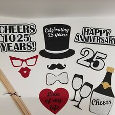 Hand Crafted 50th Anniversary Photo Prop 2172D Golden Anniversary// Cheers