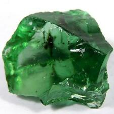42.07 ct - Excellent Natural Rough Crystal Green Obsidian Madagascar