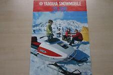 165186) Yamaha SL 396 Schneemobil - USA - Prospekt 197?