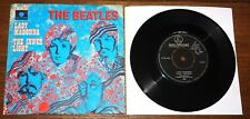 """BEATLES LADY MADONNA b/w INNER LIGHT NETHERLANDS PARLOPHONE 7"""" PICTURE SLEEVE"""