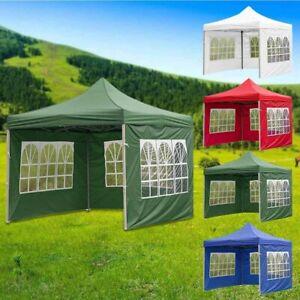 Garden Heavy Duty Oxford Gazebo Marquee Party Tent Wedding Canopy Cloth NewGO