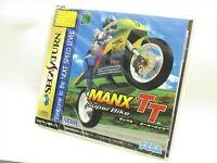 MANX TT Super Bike Brand NEW Item ref/acaa Sega Saturn Import Japan Game ss