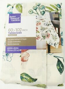 Better Homes & Garden Annabelle Floral Print Tablecloth