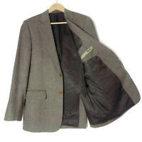 MAGEE Nice T2 Tweed Jacket Size 40 40R  Blazer Mens Brown Pure Wool Country M