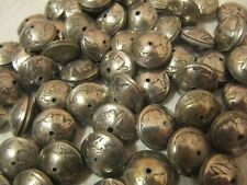 HAND MADE SQUASH BLOSSOM BEADS(100) OUT OF ORIGINAL BUFFALO NICKEL COINS!