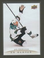 (71120) 2011-12 UPPER DECK CANVAS JOE THORNTON #C68