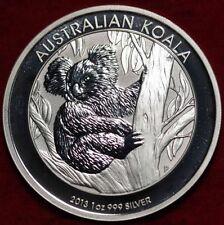 >AUSTRALIA, 2013  KOALA SERIES SILVER COINS, .999%1 Oz Brilliant Uncirculated #2