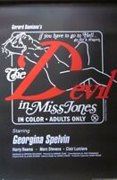 DEVIL IN MISS JONES ADULT FILM -Poster-Laminated available-90cm x 60cm-Brand New