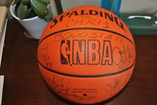 Team Autographed Signed by 12 Spalding Basketball Seattle Sonics 1988-89 Season