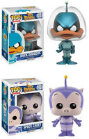 Funko POP! Animation ~ DUCK DODGERS & SPACE CADET FIGURE SET ~ Looney Tunes