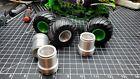 1/24 Silver Monster Truck Wheel/Rim For AMT Tires (set of 4)