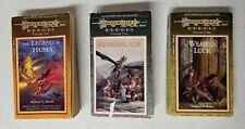 Set of 3 DragonLance Heroes Trilogy, Legend of Huma, Stormblade, Weasel's Luck