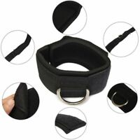 D-ring Fitness Exercise Training Workout Resistance Bands Leg Thigh Ankle Strap