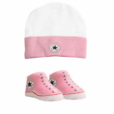 Calzado rosas Converse para bebés