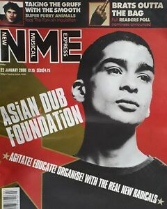 Nme Music Magazine.22 January 2000.Asian Dub Foundation Cover.Mos Def/Kev Spacey