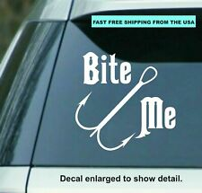 "Laptops Bite Me Vinyl Decal /""Sticker/"" For Car or Truck Windows etc"