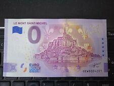 BILLET EURO SOUVENIR 2021-1 LE MONT SAINT MICHEL ANNIVERSAIRE