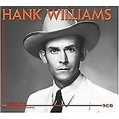 Hank Williams - Legends Of Country Music (2008) 3 CD- Country Music-FREE POST!