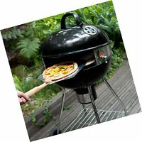 Pizzacraft PC7001 PizzaQue Deluxe Outdoor Pizza Oven Kettle Grill Conversion ...