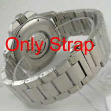 24mm 316L stainless steel solid bracelet fit Parnis 47mm Automatic men's Watch