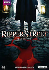 Ripper Street: Second Season 2 (DVD, 2014, 3-Disc Set)