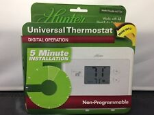 Hunter Nonprogrammable Thermostats For Sale Ebay. New Hunter Universal Thermostat Digital Operation 47124 Nonprogrammable. Wiring. Hunter 5 Wire Thermostat Diagram 40135 At Scoala.co