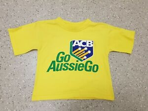 Vintage Child's Australia Cricket TShirt size 16