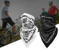 Fashion Cycling Triangle Scarf Bike Summer Half Face Cover Breathable Neck Tube
