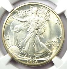 "1916-S Walking Liberty Half Dollar 50C - NGC MS65+ ""Plus"" Grade - $10,150 Value!"