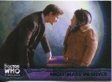 Doctor Who Timeless Green Parallel Base Card #89 Nightmare in Silver