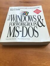 Microsoft Windows For Workgroups & MS - DOS User's Guide 6.22 EUC 1994