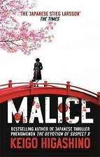 Malice by Keigo Higashino (Paperback) New Book