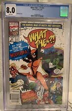 What The - - ?! #11 Cgc Graded Comic Wolverina