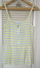 Reitmans Lemon Print Tank Top Size Small New With Tags
