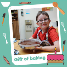 Helen & Douglas House Charity Virtual Gift that Gives Twice - Gift of Baking £5