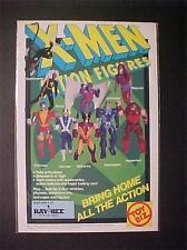 MARVEL X-MEN WOLVERINE + SUPERHERO ACTION FIGURES TOY ART PRINT AD~ ORIG VINTAGE