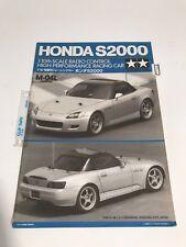 Tamiya 58236 Honda S2000 Radio Control instruction Manual