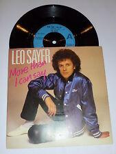 """Leo Sayer-más de lo que puedo decir - 1980 Reino Unido 7"""" Single (con foto Manga)"""