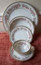 5 PIECE PLACE SET NORITAKE CORDELL (MORE AVAIL)DINNER PLATE SOUP BOWL B&B CUP
