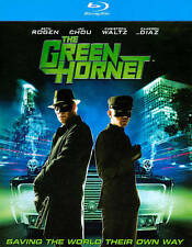 The Green Hornet - blu ray - Action Adventure Movie - Pre-owned -Seth Rogen
