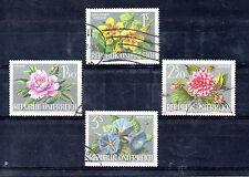 Austria Flores valores del año 1964 (BC-368)