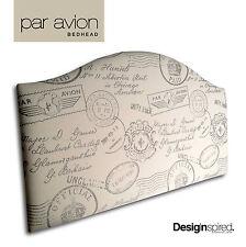 PAR AVION Upholstered Bedhead / Headboard for Queen Ensemble