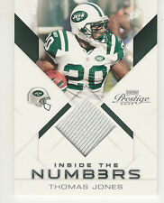 2009 PLAYOFF PRESTIGE NUMBERS THOMAS JONES JERSEY /100