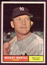 1961 TOPPS MICKEY MANTLE CARD NO:300 NEAR MINT