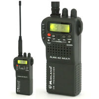 CB Radio Midland ALAN 42 Multi 4W Handfunkgerät CB Radio CB-Funkgerät Tragbar